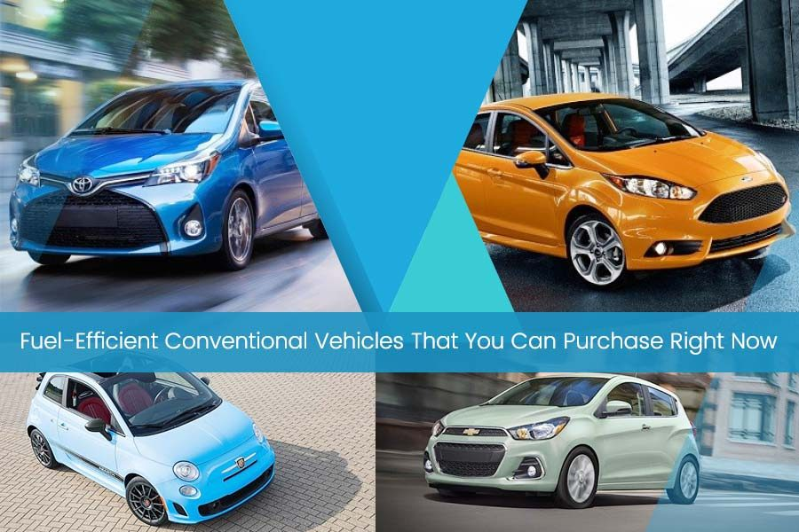 Fuel-Efficient Conventional Vehicles That You Can Purchase Right Now