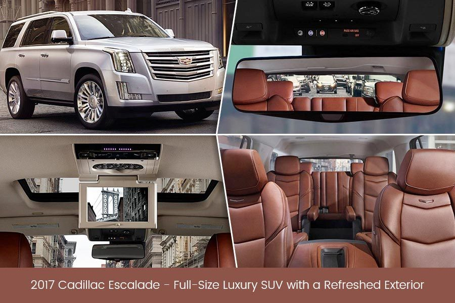 2017 Cadillac Escalade – Full-Size Luxury SUV with a Refreshed Exterior