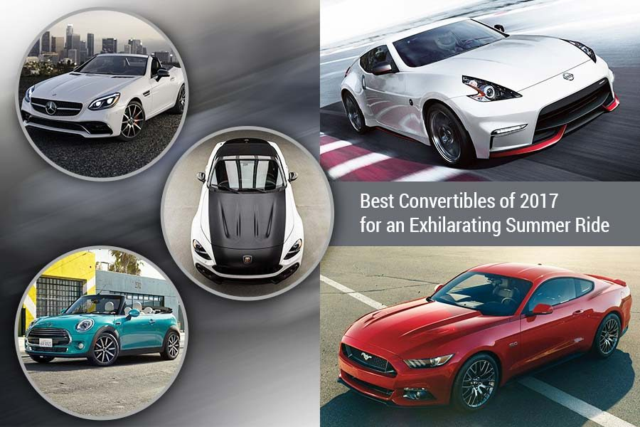Best Convertibles of 2017 for an Exhilarating Summer Ride