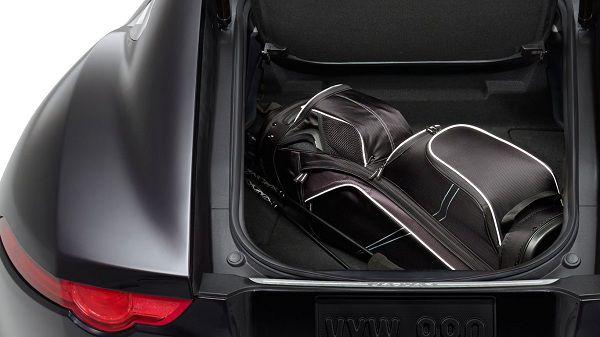 Cargo Interior of 2017 Jaguar F-Type