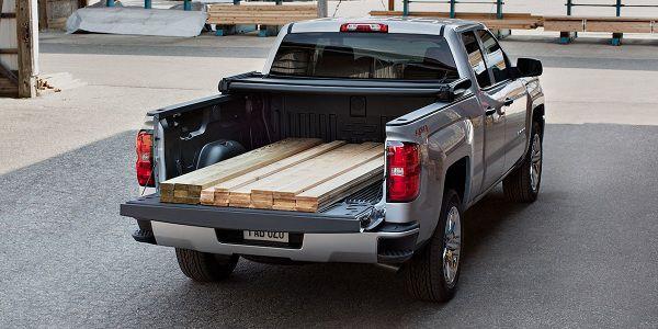 Cargo of 2017 Chevrolet Silverado 1500