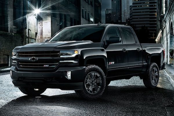 Design of 2017 Chevrolet Silverado 1500