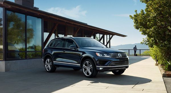 Design of 2017 Volkswagen Touareg