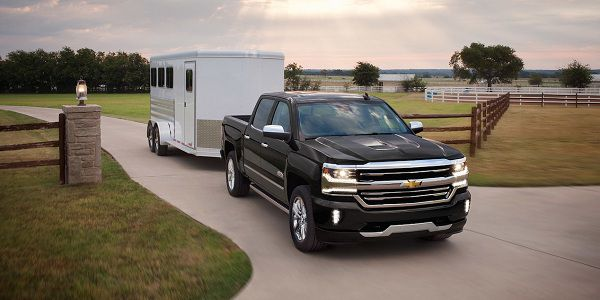 Powertrain of 2017 Chevrolet Silverado 1500