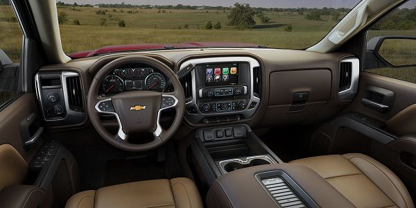 Technology of 2017 Chevrolet Silverado 1500