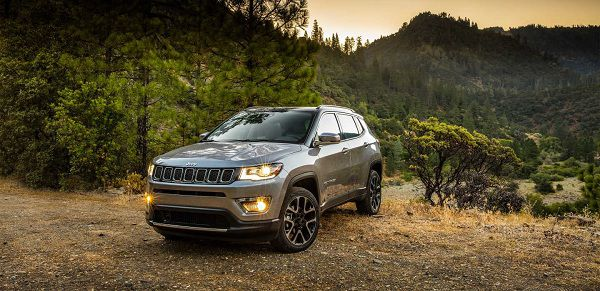 Exterior of the 2017 Jeep Compass