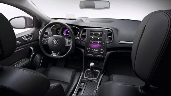 Interior of 2018 Renault Megane