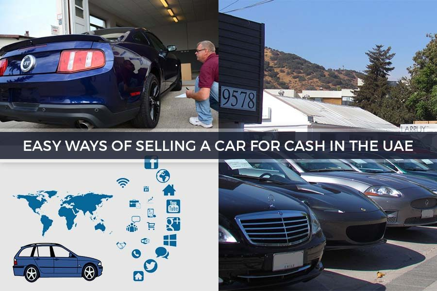 Easy Ways of Selling a Car for Cash in the UAE