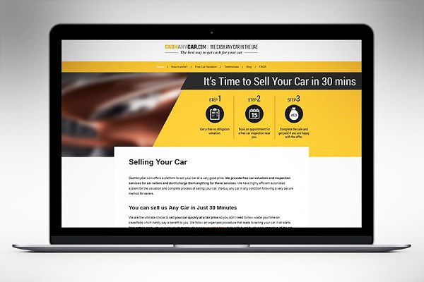 Sell a Damaged Car at CashAnyCar.com